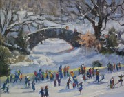 """Holiday in Ice, Central Park,"" by Lee Haber. Copyright © Lee Haber. Used by permission of the artist."