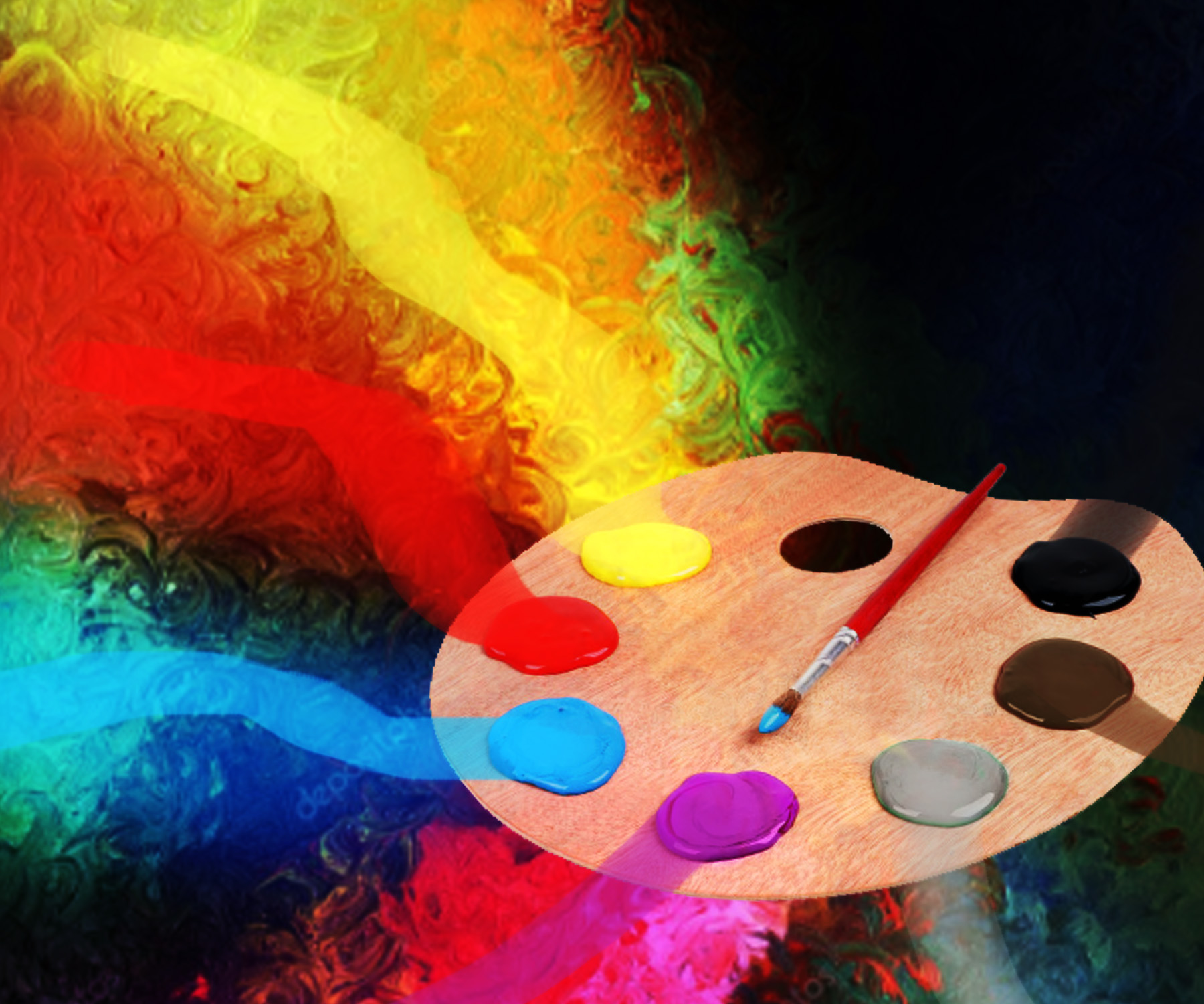 Art Painting Colour Theory